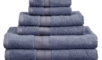 Cotton & Bamboo Towels Set