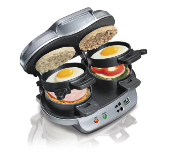 Great Gift Idea! Hamilton Beach Dual Breakfast Sandwich