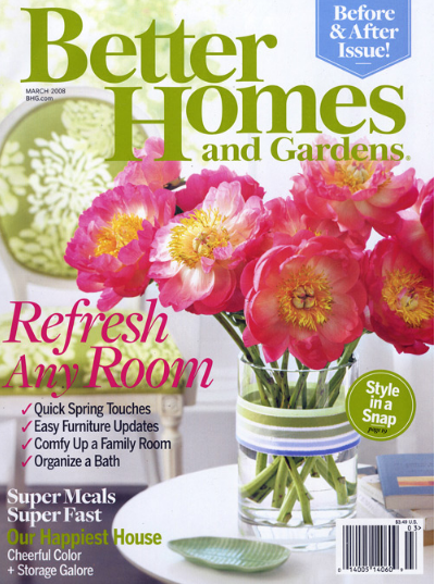 Free one year subscription to better homes and gardens for Free home magazines