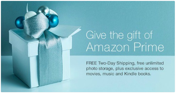 give amazon prime as a gift