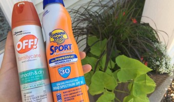Banana Boat® SunComfort Sunscreen and OFF!® Insect Repellent are Staples in the Summer