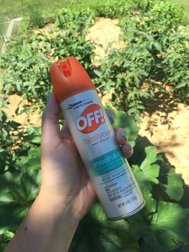 off spray before gardening #spon #ad