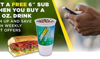 FREE Subway Sub Coupon