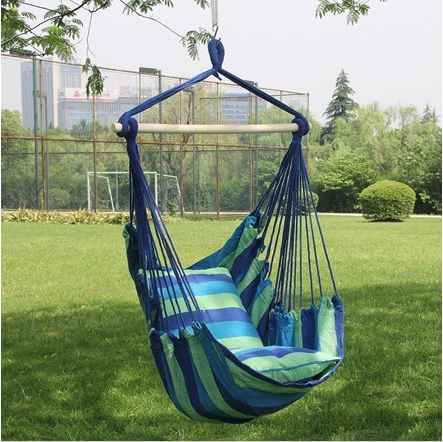 Hanging rope hammock chair only value for Indoor hanging rope chair