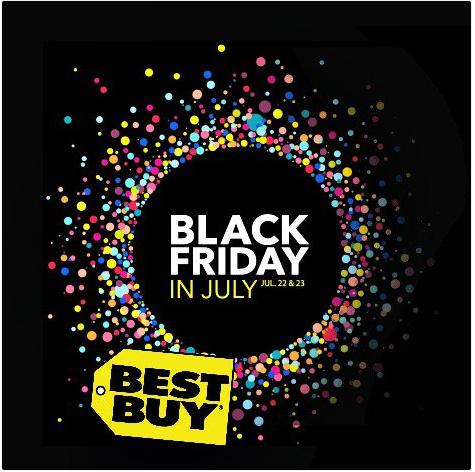 Best Buy Black Friday in July! -