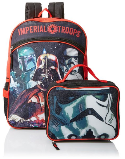 Star Wars Backpack and Lunch Tote Combo Set - e88a9373476ff