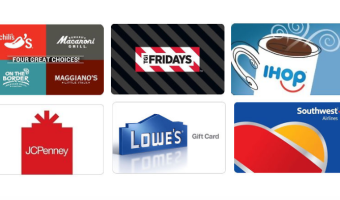 Lowe's, JCPenney Gift Cards up to $10 Off & More