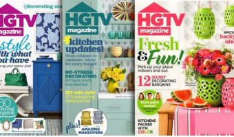 RARE Magazine Deal! HGTV Magazine as Low as $10/Year!