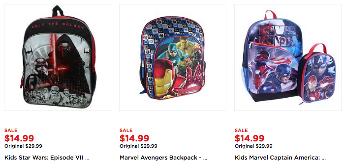 Kids Backpacks on Sale, as Low as $10.49 Each! -