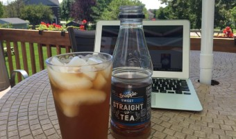 snapple tea is so refreshing #ad
