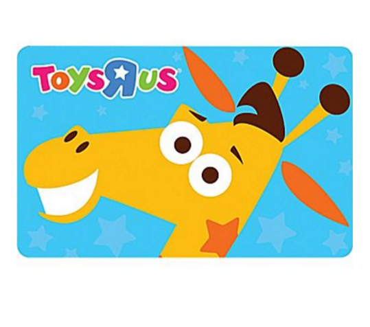Toys R Us Gift Card : Toys r us gift card only