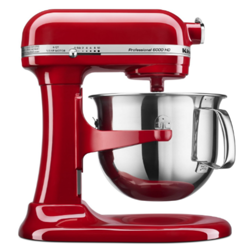 kitchenaid 6 qt professional 6000 hd bowl lift stand mixer better than black friday price. Black Bedroom Furniture Sets. Home Design Ideas