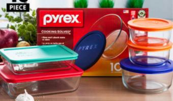Ten Piece Pyrex Food Storage Set