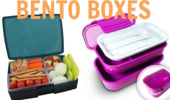 bento boxes school lunch