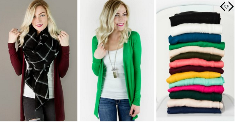 Long Cardigans ONLY $21 Shipped