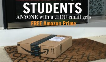 Hot Deals: Amazon Prime Membership FREE for College Students!