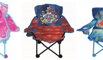 kids character folding chairs
