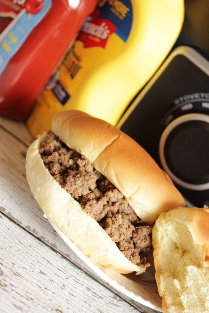 loose meat sandwich