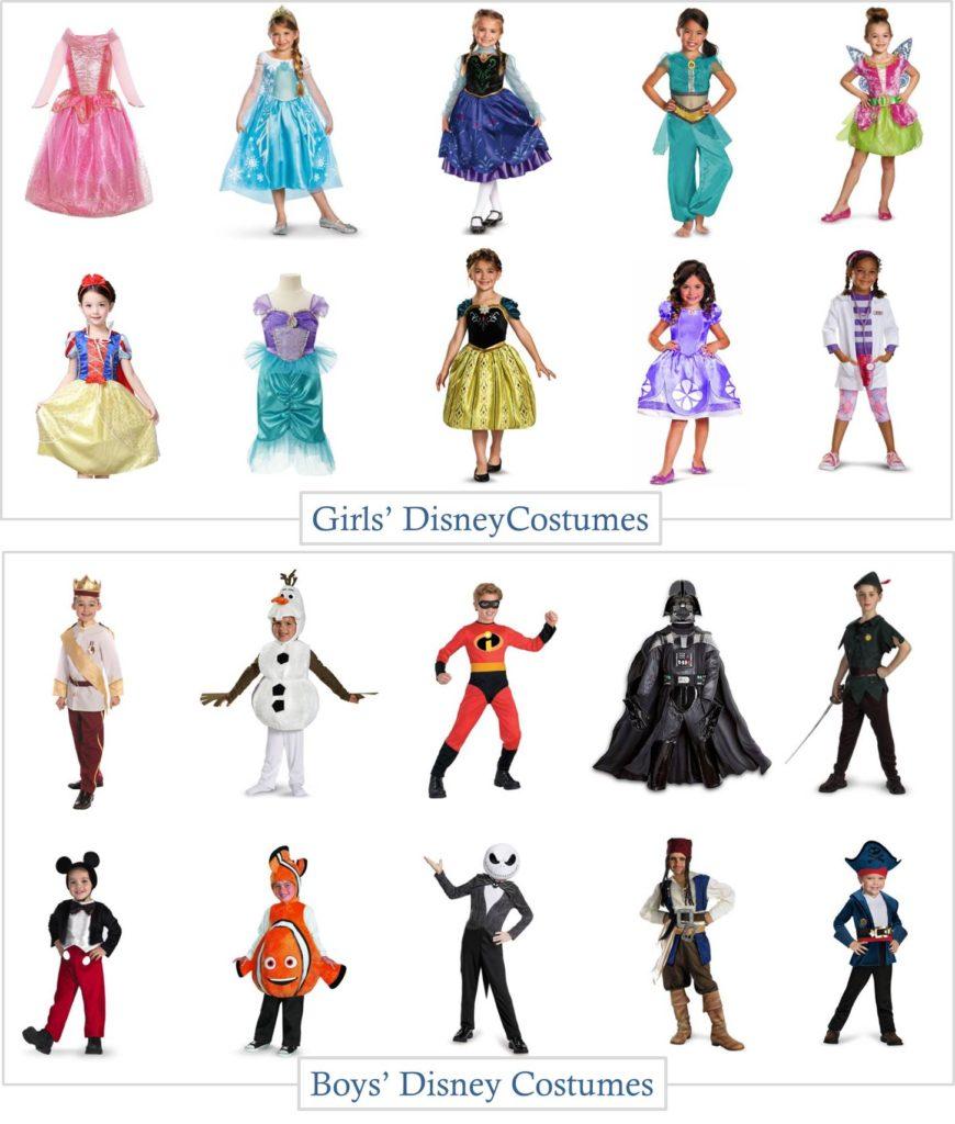 Disney Halloween Costumes on a Budget