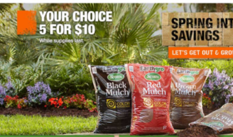 HomeDepot.com: Bags of Mulch ONLY $2