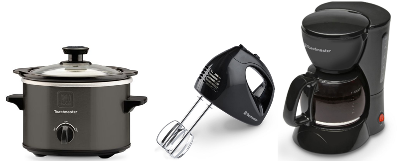 kohl's: toastmaster kitchen appliances only $2.44 after