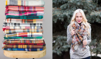 Cents of Style: Blanket Scarves Ship for $12.95 — Great Gift Idea!