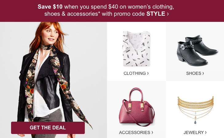 e0d4a103 Target.com: Save $10 Off Shoes & Clothing Purchase - WOW! -