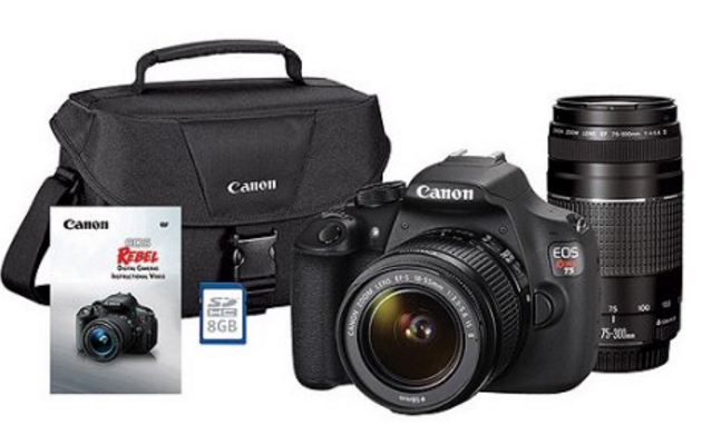 WOW! Canon DSLR Cameras on Sale up to $250 Off!
