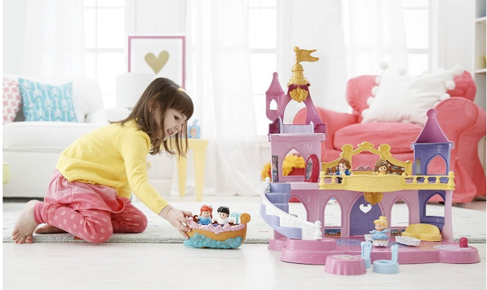 Fisher-Price Little People Disney Princess Musical Dancing Palace at BEST Price! - Deals & Coupons