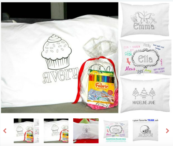 Personalized Pillowcases on Sale, Only $7.95 - Deals & Coupons