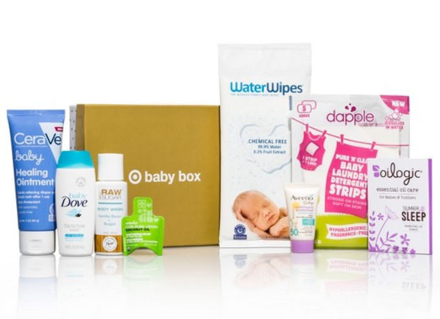Baby items for free from Target