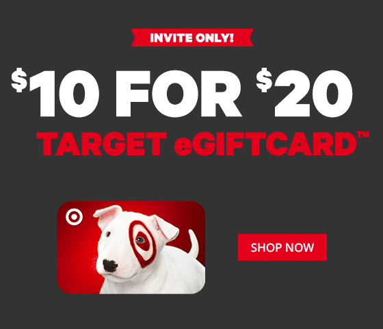 $20 Target Gift Card on Sale ONLY $10!? - Deals & Coupons