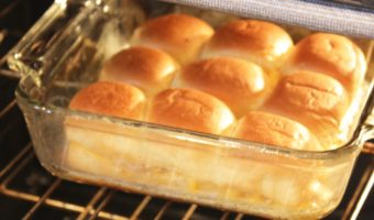 Hot Ham and Cheese Rolls (Perfect Kids Meal!)