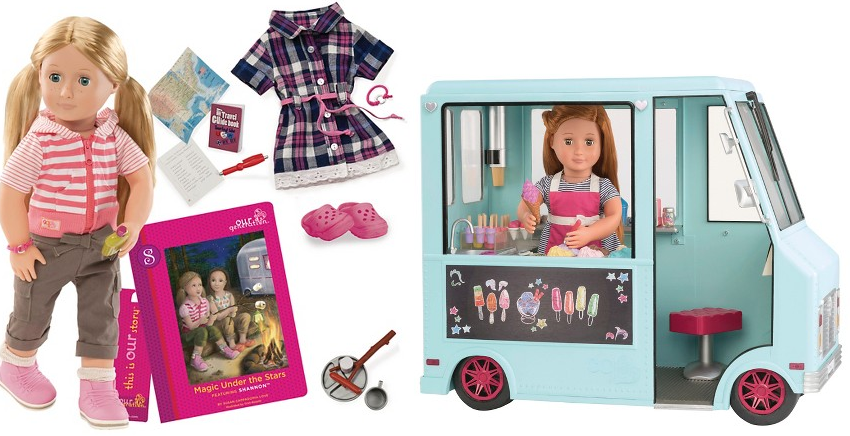 Target.com: Our Generation Dolls Only $13.99, Accessories ...
