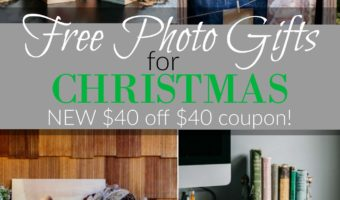 NEW $40/$40 Photo Barn Coupon Code Available = FREE Photo Gifts!