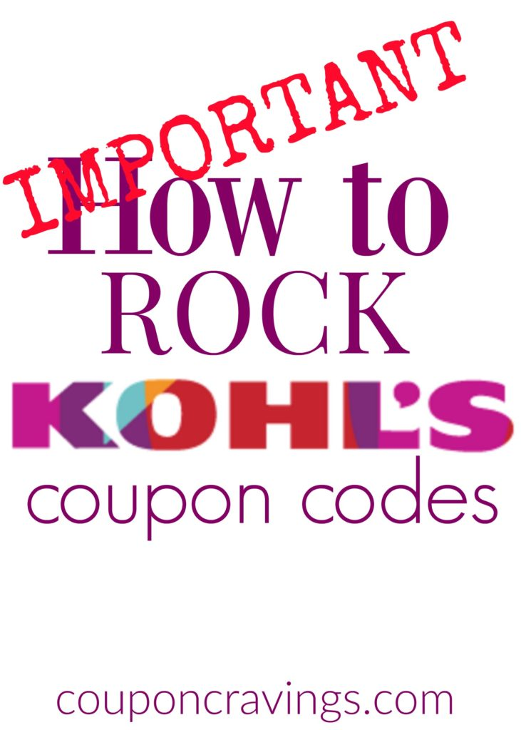 Are you looking for shopping hacks, saving money tips and ways to save at Kohl's? Knowing how to use Kohl's coupon codes is really important. This will show you how Kohl's codes and Kohl's Cash works.