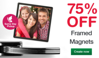 Walgreens: 4×4 Framed Photo Magnets Only $1.75 + Free Store Pickup
