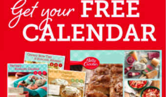 FREE 2017 Betty Crocker Calendar