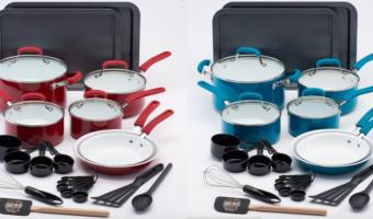 Kohl's.com: Guy Fieri 25-pc. Ceramic Cookware Set, ONLY $63.99 = $2.56/Item!
