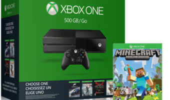 Microsoft Xbox One 500GB Bundle Only $179.99