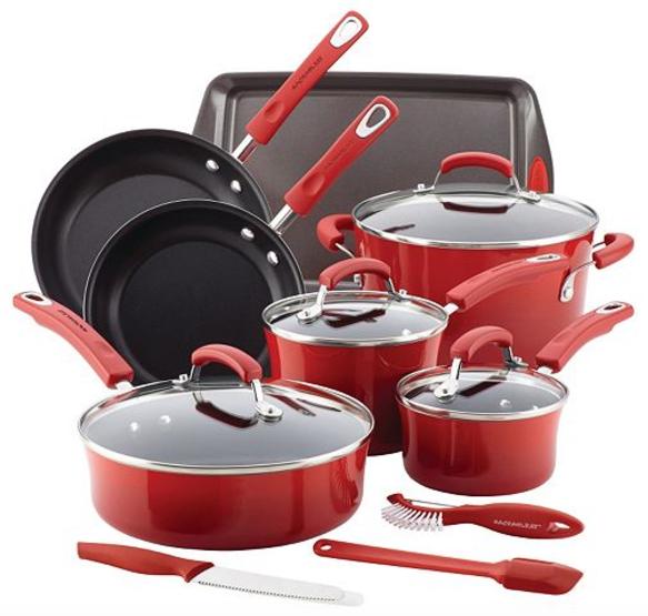 Kohl's: Rachael Ray 14-pc. Nonstick Cookware Set $58.49 ...