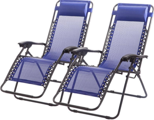 2-ct. Pack Of Anti-Gravity Chairs ONLY $39.99 Shipped