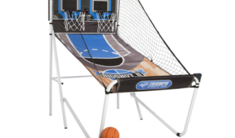"""Triumph Sports """"Big Shot"""" 8-in-1 Two-Player Basketball Set at Best Price!"""
