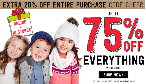 Crazy8.com: 75% Off + Additional 20% Off + FREE Shipping! - Deals & Coupons