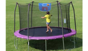 Amazon: Skywalker Trampolines 12-Feet Jump N' Dunk Trampoline at BEST Price