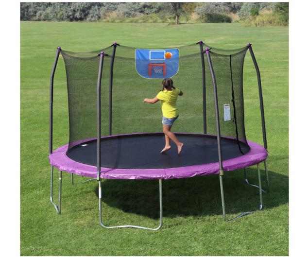 12 Foot Trampoline By Jumpsport: Amazon: Skywalker Trampolines 12-Feet Jump N' Dunk