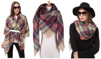 Amazon.com: Women's Plaid Scarves Only $5.99 Each