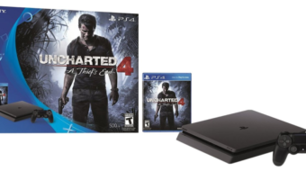 Save $50! PlayStation 4 Slim 500GB Console Uncharted 4 Bundle at Best Price!