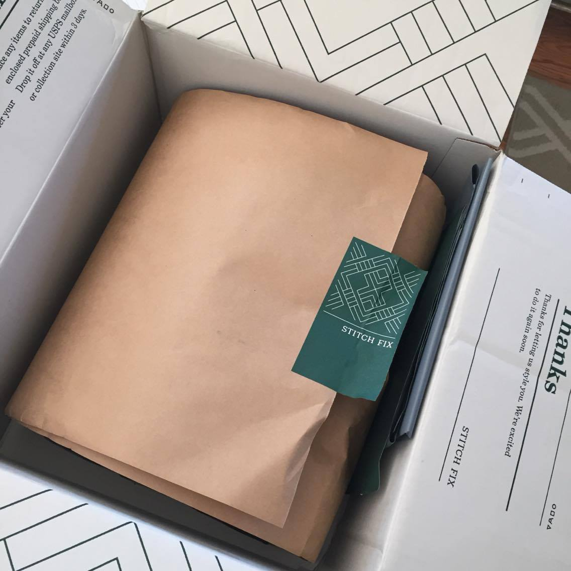 Update your Stitch Fix account with price preferences, style desires and more to get a good Stitch Fix for Men box like this one!