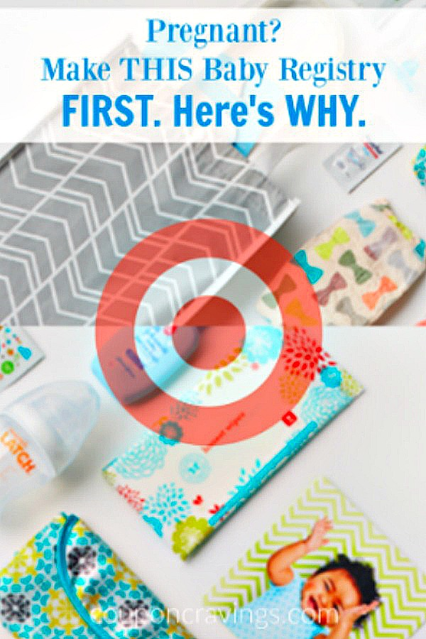 Need a baby registry checklist? Target, ideas, what to buy are what you need. You're going to want to remember this HUGE tip!